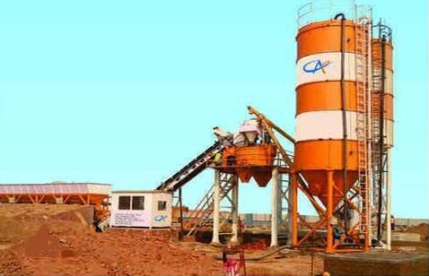 Fully Automatic Concrete Batching & Mixing Plant